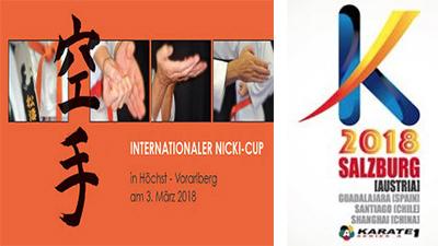 Tournois internationaux 2018-2
